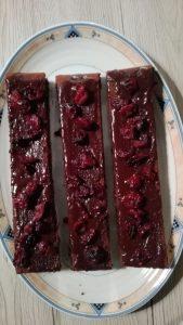 Schoko-Cranberry-Kuchen
